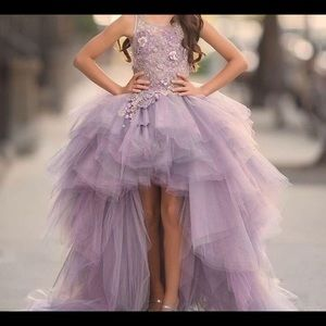 Other - Gorgeous Lavendar High Low Gown/Dress